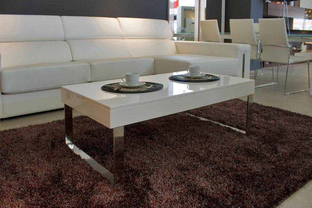 Mesa de centro con patas cromadas ref l42000 car for Patas para mesa de centro