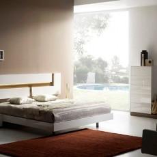 Dormitorio de diseño minimalista