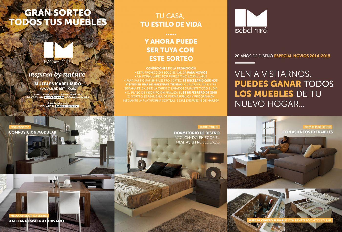 Blog isabel mir for Isabel miro muebles